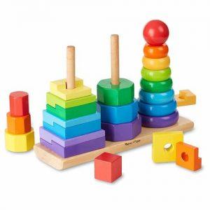 Apilables de madera para niños