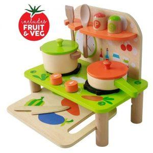 cocina para bebés en madera Beesmart
