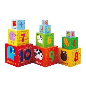 apilables de madera para niños pequeños de towo