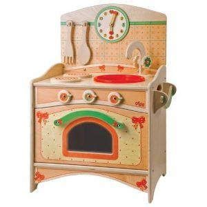 cocinita de madera para niños pequeños Dida