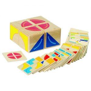 Juego de madera de memoria para niñas Goki