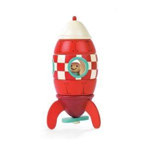 Cohete de madera para niños Janod