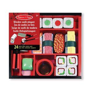 juego de sushi en madera para niños