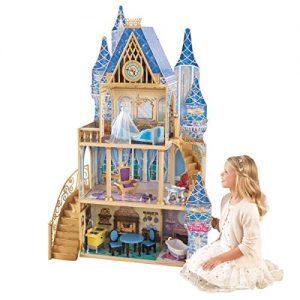 kidkraft casa de muñecas en madera. Palacio de ensueño Cenicienta