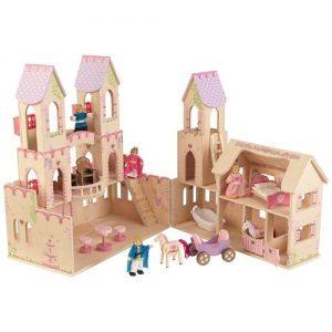 Palacio de madera para jugar Kidkraft