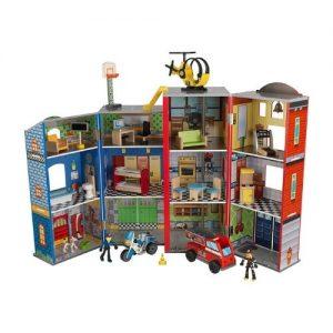 Estación de vehículos de madera infantil Kidkraft