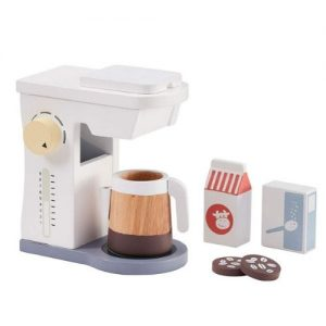 cafetera de madera infantil. máquina de café para jugar Kids Concept