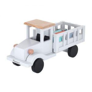 Camión de reparto de juguete en madera de Kindsgut