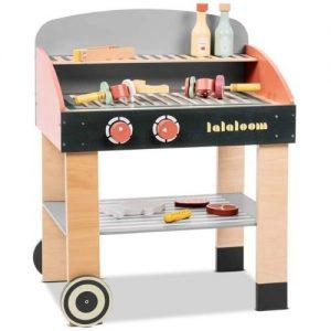 BBQ Barcacoa grill de juguete en madera Lalaloom