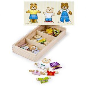 Puzzle de animales con forma de oso Melissa & Doug