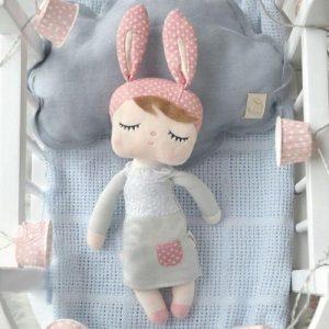 muñeca de tela ecológica infantil para bebés