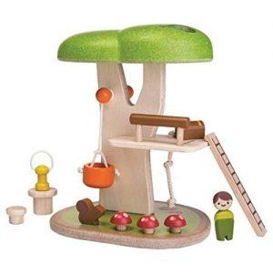 plantoys casa del árbol de madera infantil