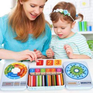 puzzle de madera infantil Montessori