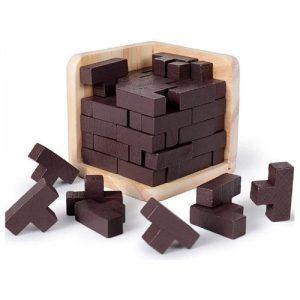 Tetris 3D de madera infantil Rolimate
