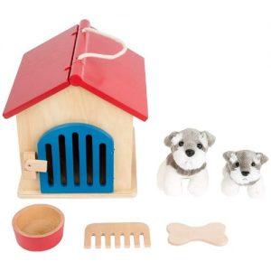 Caseta de mascotas de madera para jugar Small Foot Company