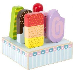 Helados de madera de juguete para niños Small Foot Company