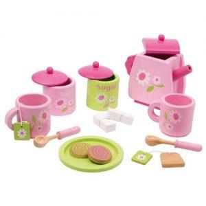 juego de café y té en madera para jugar infantil de Small Foot Company