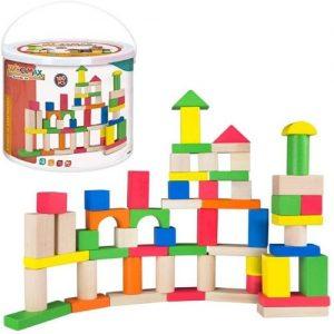 bloques de construcción en madera para niños Woomax