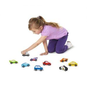 Automóviles y coches de madera de juguete Melissa & Doug. Juguete ecológico