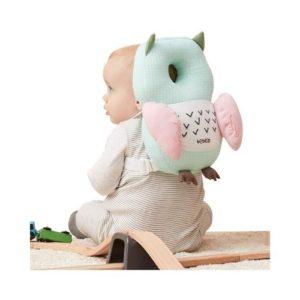 Cojín para proteger la cabeza del bebé de Bebamour. Regalo ecológico para babyshower