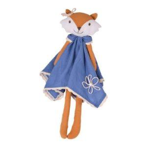Muñeca de trapo con forma de zorro de Bonikka. Regalo ecológico