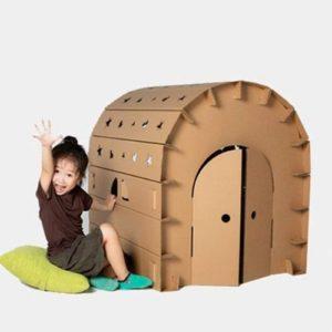 Casa de cartón ecológica infantil de Cardboard house
