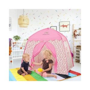 Casas y tipis de tela ecológica infantil en color rosa