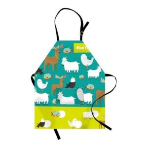 Delantal de cocina para niños. Producto ecológico infantil