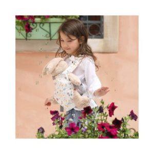 Portamuñecos de tela ecológica infantil de Gagaku. Juguete ecológico para niños