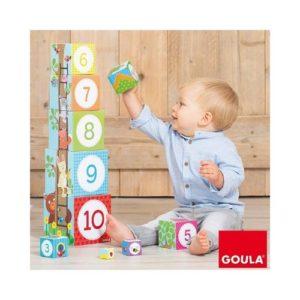 Cubos apilables de cartón para bebé de Goula. Regalo para babyshower