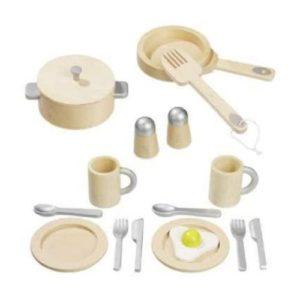 Set de utensilios de madera de Howa ecológicos