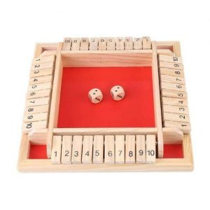 Juego de mesa en madera infantil para aprender a contar