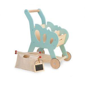 Carrito de la compra de madera para niños de Le Toy Van