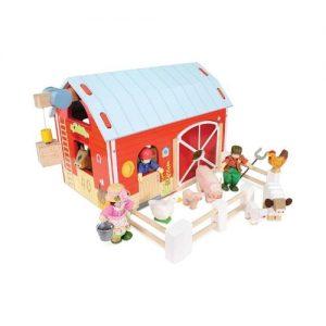 Granero de juguete en madera de Le Toy Van