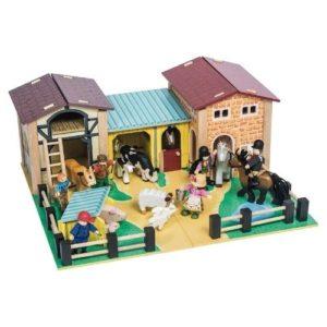 Granja de juguete en madera de Le Toy Van. Juguete respetuoso con el medio ambiente
