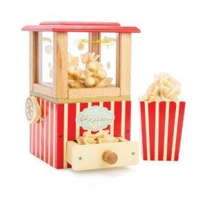 Máquina de hacer palomitas en madera de juguete para niños pequeños de Le Toy Van