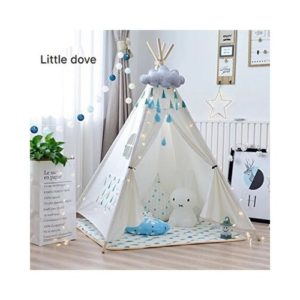 Casas y tipis de tela ecológica para niños de Little Dove