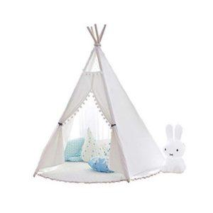 Casas y tipis de tela ecológica infantil de Little Dove