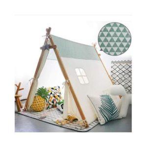 Casas y tipis de tela ecológica. Regalo ecológico infantil
