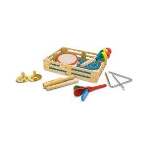 Instrumentos musicales de madera de juguete de Melissa & Doug