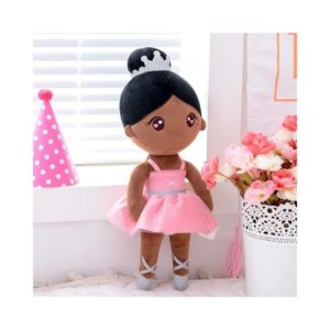 Muñeca bailarina de tela y trapo ecológica de Gloveleya