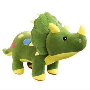 Peluche de dinosaurio de tela. Regalo ecológico