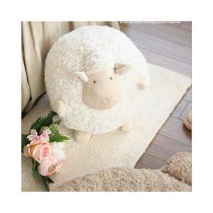 Peluche de oveja en material ecológico