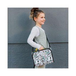 Fiambrera ecológica infantil de Petit Collage. Regalo ecológico infantil