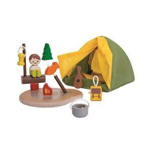 Set ecológico de camping para niños de Plan Toys