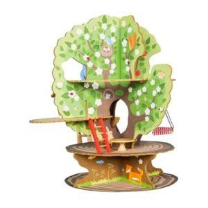Casa en el árbol de juguete en madera de Roba Kids. Juguete respetuoso con el medio ambiente