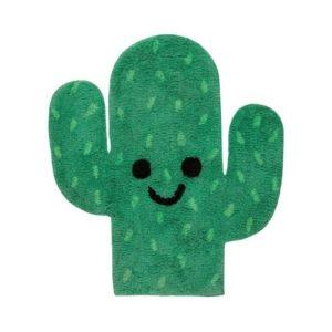 Alfombra de cactus infantil de algodón ecológico