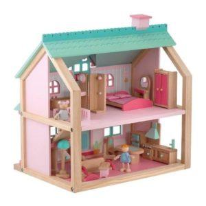 Casa de madera de juguete de Sevi.Juguete respetuoso con el medio ambiente