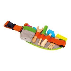 Cinturón de herramientas de bricolaje de madera para niños de Small Foot Company