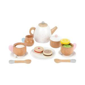 Set de café y té de juguete en madera ecológica de Small Foot Company
